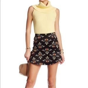 {Free People} Fit and flare mini skirt